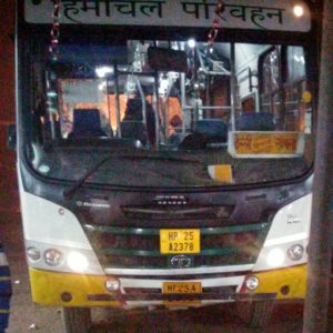 HRTC Sangla Bus